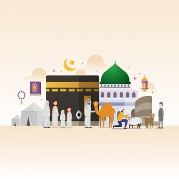 Hajj PNG Images | Vector and PSD Files | Free Download on Pngtree