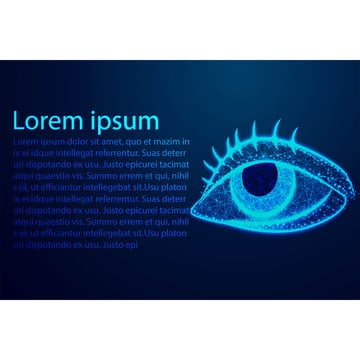 eye human anatomy abstract low poly wire frame design vector, Anatomy, Eye, Low PNG and Vector