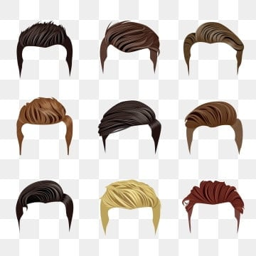 Hairstyle Png Vector Psd And Clipart With Transparent