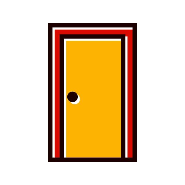 закрытая дверь картинки вектор