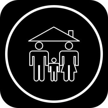 โครงการไอคอนหน้าแรก, พื้นหลัง, ออกแบบ, องค์ประกอบ รูปภาพวัสดุPNG และ เวกเตอร์