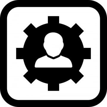 สไตล์ที่เป็นที่นิยมในพื้นหลังที่เป็นอิสระไอคอนการจัดการ, ธุรกิจ, ไอคอนทางธุรกิจ, วงกลม รูปภาพวัสดุPNG และ เวกเตอร์