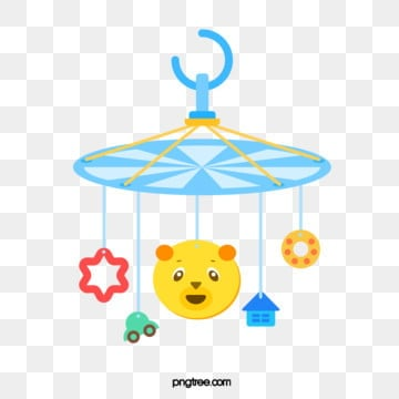 cartoon bear baby toy lifting, Pendant, Small House, A Car PNG and Vector