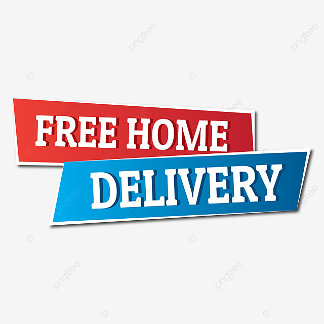 Free Home Delivery Vector Designs Font Effect AI For Free Download