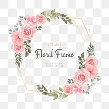 flower frame png vector psd and clipart with transparent background for free download pngtree flower frame png vector psd and