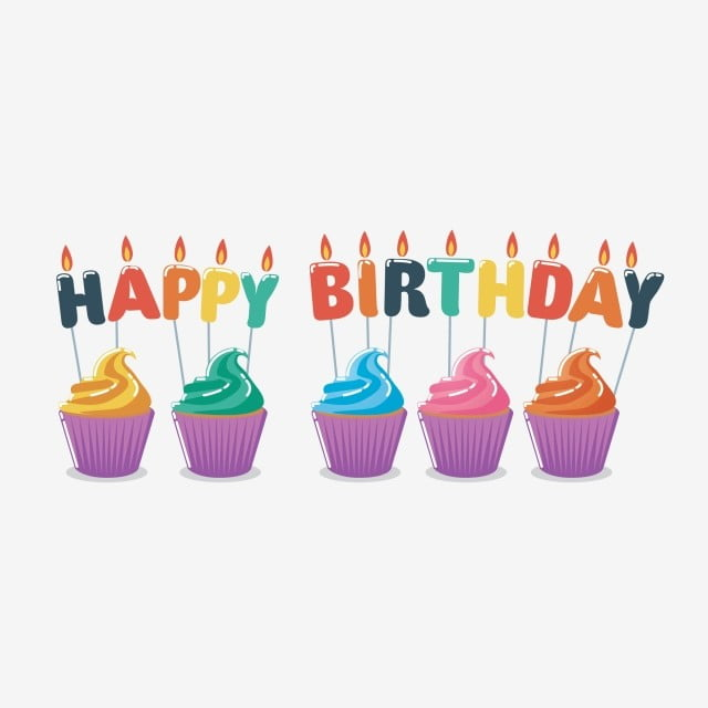 Groovy Happy Birthday Cupcake With Candle Birthday Cupcake Cake Png Personalised Birthday Cards Paralily Jamesorg