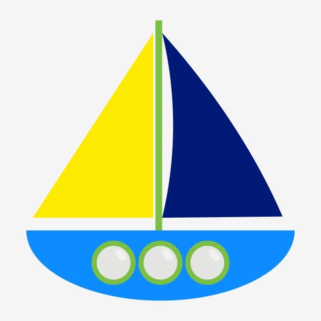 Boat Cartoon Vector, Cartoon, Ships, Boat PNG and Vector