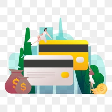 apply credit card illustration concept  modern flat design concept of web page design for website and mobile website vector illustration, Money, Payment, Financial PNG and Vector