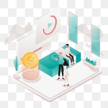 cheap and affordable illustration concept  isometric design concept of web page design for website and mobile website vector illustration, Isometric, Coworking, Space PNG and Vector