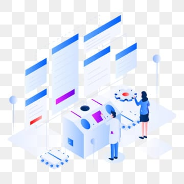 data modeling isometric illustration concept  isometric flat design concept of web page design for website and mobile website vector illustration, Isometric, Technology, Data PNG and Vector