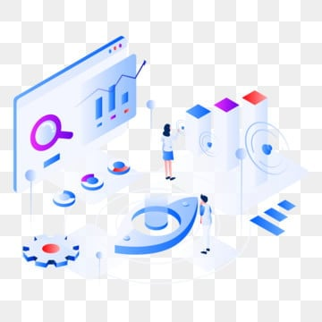 data virtualization isometric illustration concept  isometric flat design concept of web page design for website and mobile website vector illustration, Isometric, Technology, Data PNG and Vector