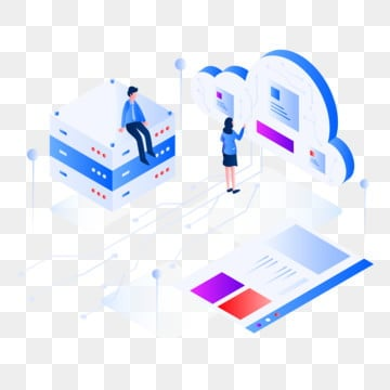 database server isometric illustration concept, Isometric, Database, Server PNG and Vector
