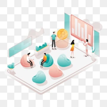 event space illustration concept  isometric design concept of web page design for website and mobile website vector illustration, Isometric, Business, Concept PNG and Vector