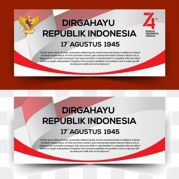 indonesia independence day banner, Indonesia, Independence Day, Background PNG and Vector