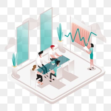 meeting room illustration concept  isometric design concept of web page design for website and mobile website vector illustration, Office, Illustration, Room PNG and Vector