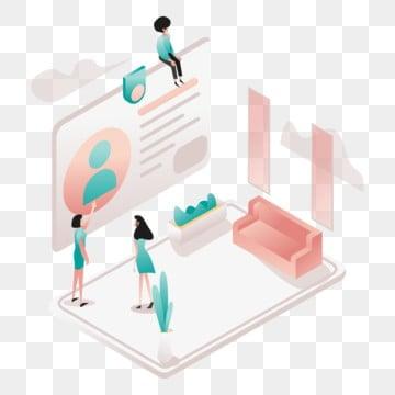 membership illustration concept  isometric design concept of web page design for website and mobile website vector illustration, Isometric, Coworking, Space PNG and Vector