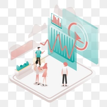 presentation technology illustration concept  isometric design concept of web page design for website and mobile website vector illustration, Isometric, Coworking, Space PNG and Vector