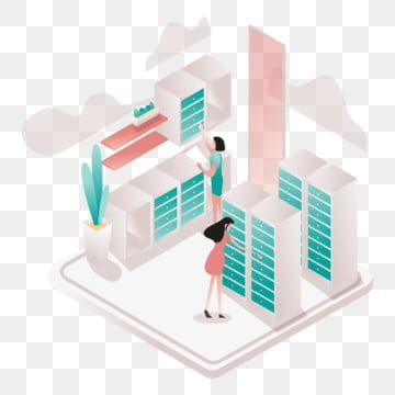 secure space and private locker illustration concept  isometric design concept of web page design for website and mobile website vector illustration, Isometric, Coworking, Space PNG and Vector
