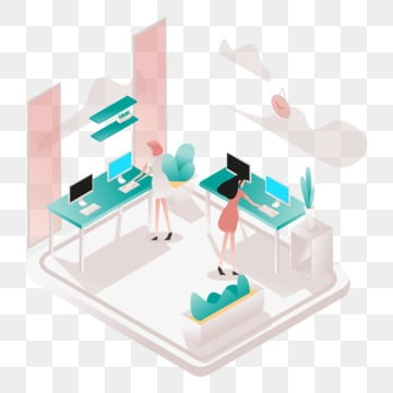 standing desk illustration concept  isometric design concept of web page design for website and mobile website vector illustration, Isometric, Coworking, Space PNG and Vector