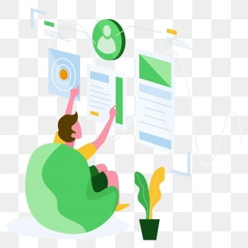 user analysis illustration concept  modern flat design concept of web page design for website and mobile website vector illustration, Analysis, Vector, Design PNG and Vector