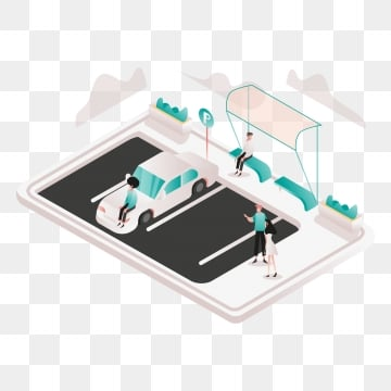 valet parking illustration concept  isometric design concept of web page design for website and mobile website vector illustration, Isometric, Coworking, Space PNG and Vector