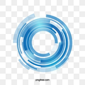 blue data technology ring, Technology, Data, Ring PNG and Vector