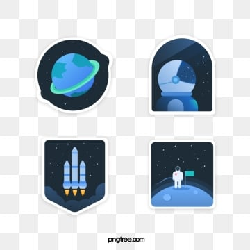 cosmic element creative illustration sticker, Universe, Sticker, Star PNG and Vector