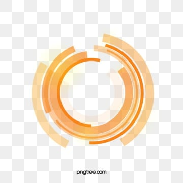 orange technology data ring, Orange, Technology, Data PNG and Vector