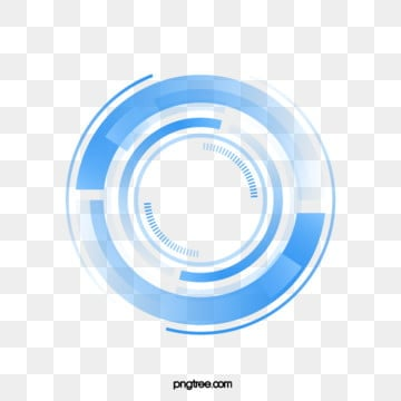 technology sense big data blue circle, Technological Sense, Circle, Blue PNG and Vector