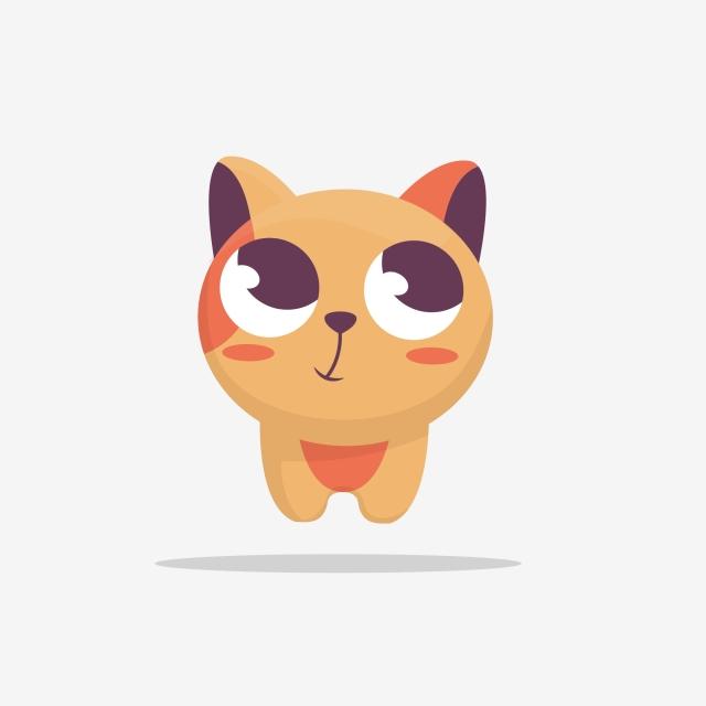 котик-нарисованный