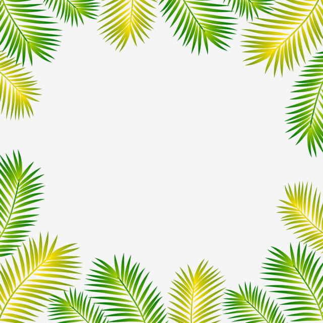 Tropical Leaf Leaves Vector Frame And Border Fern Clipart Tropical Leaves Png And Vector With Transparent Background For Free Download You can also click related. tropical leaf leaves vector frame and