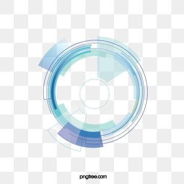 big data information technology sense circle, Blue, Technology, Circles PNG and Vector