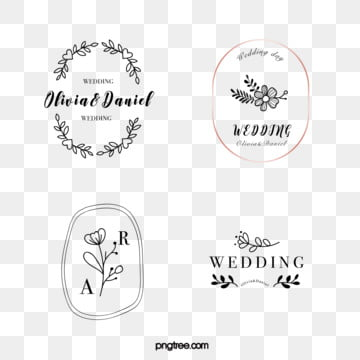 linear wedding flower decoration newcomer brand, Wedding, Famous Brand, Linear PNG and Vector