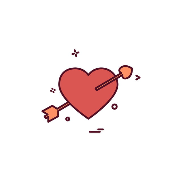 Hearts Icon Design Vector, Design, Heart, Icon PNG and