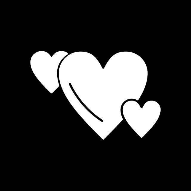 Hearts Icon For Your Project, Hearts Like, Healthcare