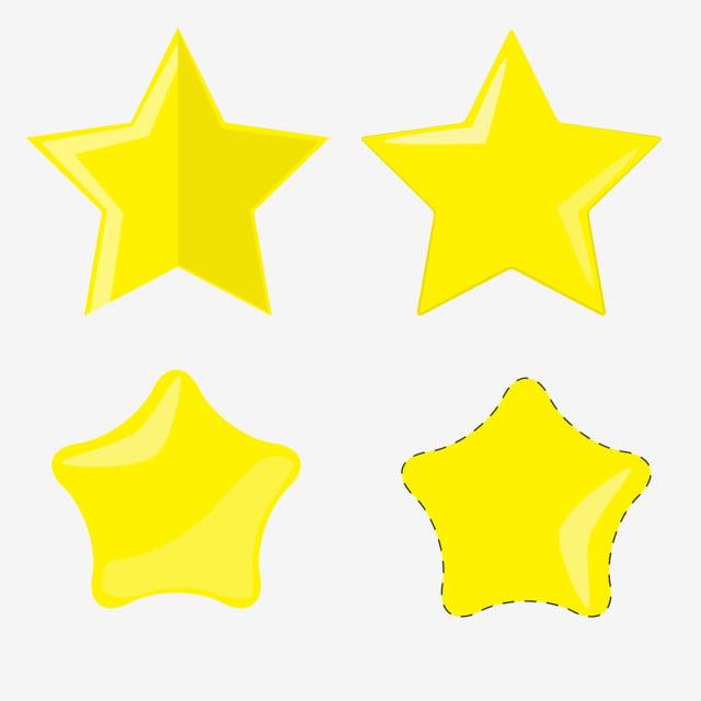 نجوم الكرتون, نجمة, النجوم, النجوم الصفراء PNG والمتجهات للتحميل مجانا
