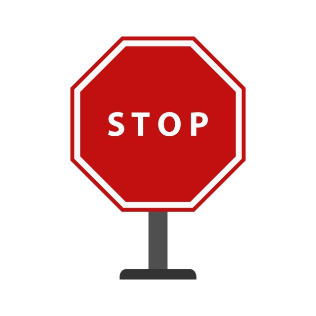 View Transparent Background Stop Sign Icon Png Background