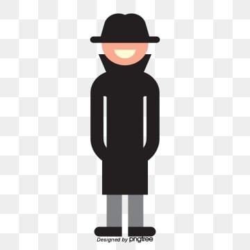 Черный костюм мужской персонаж, чёрный, одежда, мужчина PNG ресурс рисунок и векторное изображение