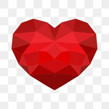 vector low poly heart, Lowpoly, Low, Poly PNG and Vector