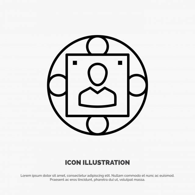 Manager Business Manager Modern Production Line Icon Vector Line Icons Background Business Png And Vector With Transparent Background For Free Download