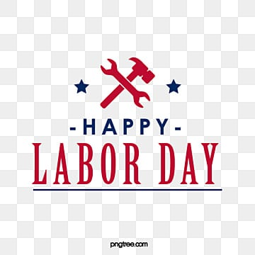 american labor day creative font art word hammer pliers combination design Fonts