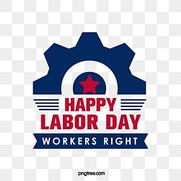 gear stars creative celebration american labor day working day word art Fonts
