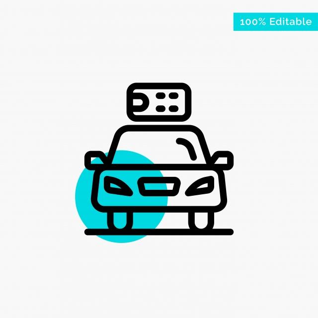 Gambar Ekologi Kereta Kuasa Tenaga Kuasa Turquoise Menonjol Bulatan Latar Belakang Kabel Konsep Png Dan Vektor Untuk Muat Turun Percuma