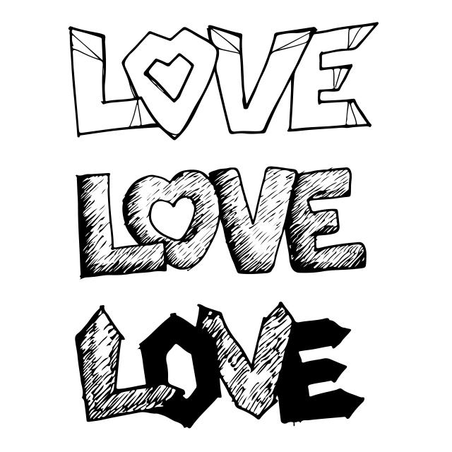 Gambar Grafiti Tulisan Tangan Di Kertas - Moa Gambar