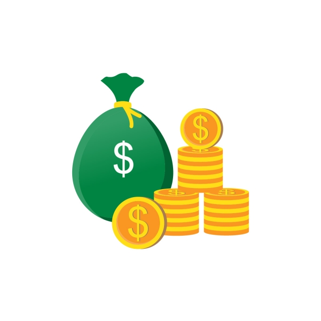 Money Vector Icon, Money Clipart, Money Icons, Bank Or Financial PNG and Vector with Transparent Background for Free Download