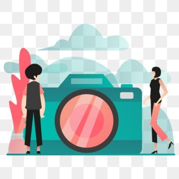 camera illustration concept  modern flat design concept of web page design for website and mobile website vector illustration eps 10, Camera, Photo, Photography PNG and Vector