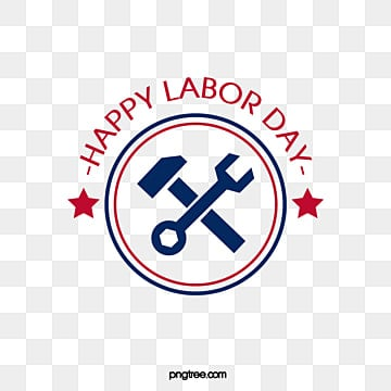 creative wrench star american labor day art word Fonts