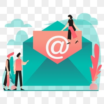 email illustration concept  modern flat design concept of web page design for website and mobile website vector illustration eps 10, Email, Internet, Mail PNG and Vector