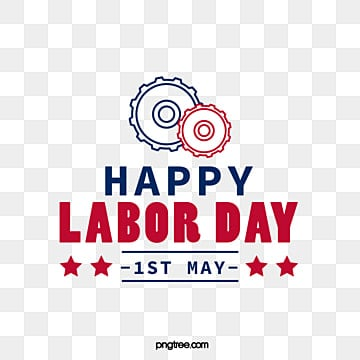 linear gear american labor day creative font art word Fonts