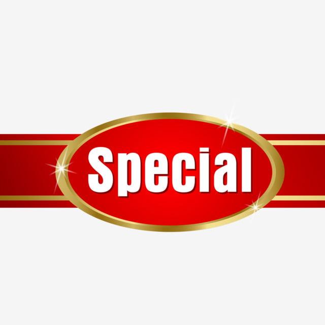 تسمية ذهبية عرض خاص الذهبي الشريط التسمية Png والمتجهات للتحميل مجانا